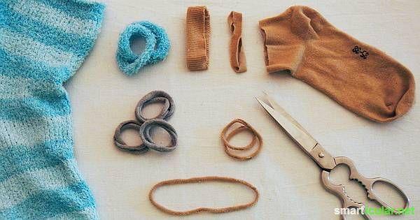 Socken verschwinden manchmal auf geheimnisvolle Weise. Einzelne Socken musst du aber nicht wegwerfen. Wofür du sie weiterverwenden kannst, erfährst du hier.