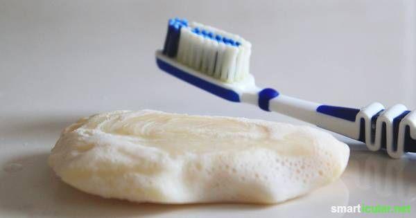 Zahnpflege ist ein breites Thema. Allein im Supermarkt gibt es hunderte Sorten von Zahncreme. Dabei geht es auch einfacher. Zähne putzen mit Seife!