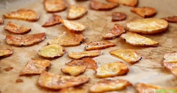 knackige chips aus kartoffeln und zucchini viel ges nder als aus dem laden. Black Bedroom Furniture Sets. Home Design Ideas
