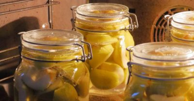 War die Obsternte üppig? Gefrierschrank und das Saftregal sind voll? Wie wäre es mit dem Einkochen von etwas Obst? Das geht sogar ohne Einkochtopf!