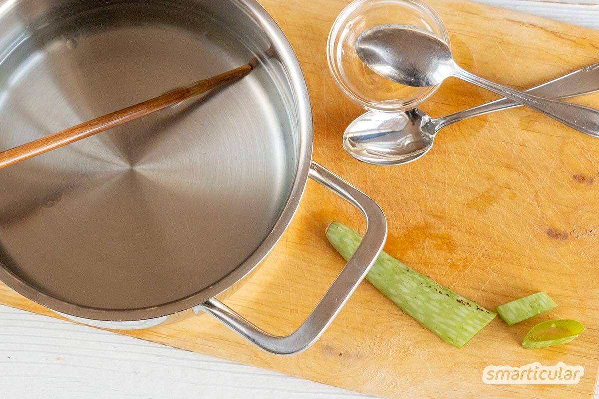 Mit selbst gemachten, wiederverwendbaren Feuchttüchern kannst du Babypopos und Hände unterwegs viel besser reinigen, als mit herkömmlichen Einwegtüchern.