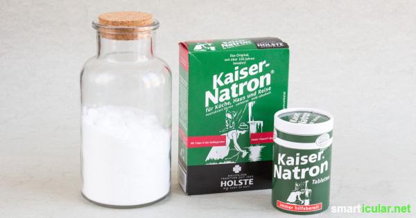 Natron ist ein kleines Wundermittel und sollte in keinem Haushalt fehlen. Wo du es kaufen kannst, was es kostet und was zu beachten ist, erfährst du hier!