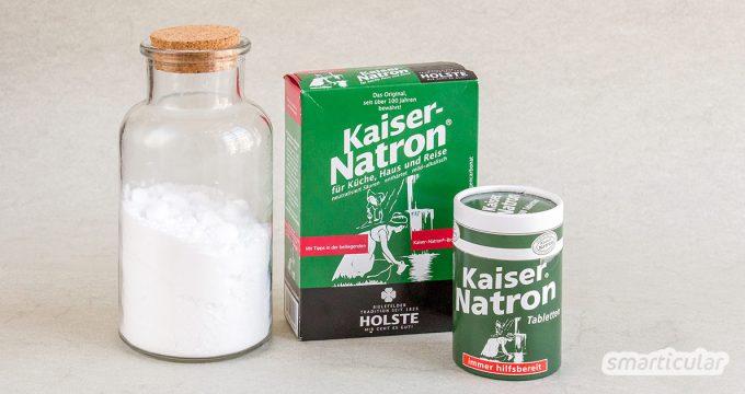 Um Natron zu kaufen, lohnt es sich, einige Tipps zu beachten. So kannst du das Wundermittel günstig in der Drogerie oder online und sogar auch unverpackt erhalten.