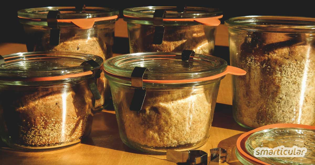 2 Rezepte Brot Im Glas Zu Backen Haltbar Immer Frisch