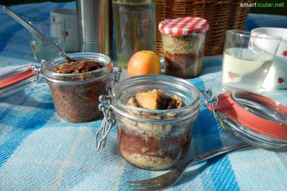 Der perfekte Snack für zwischendurch wird gleich im Glas gebacken und hält bis zu mehrere Monate. Finde heraus wie das funktioniert und worauf zu achten ist