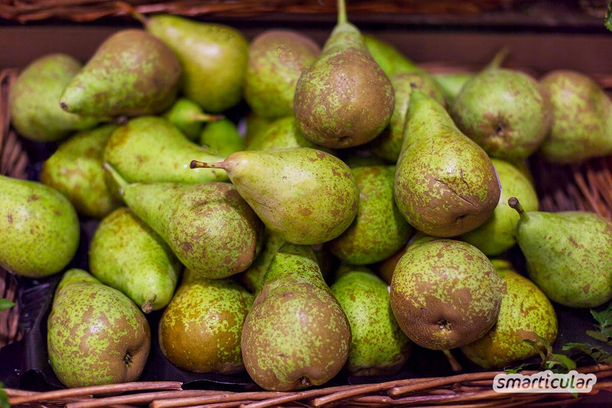 Der Saisonkalender Oktober verrät dir, welche regionale Obst- und Gemüsesorten jetzt reif sind -  zum Beispiel Äpfel, Birnen, Kürbisse und Kohl
