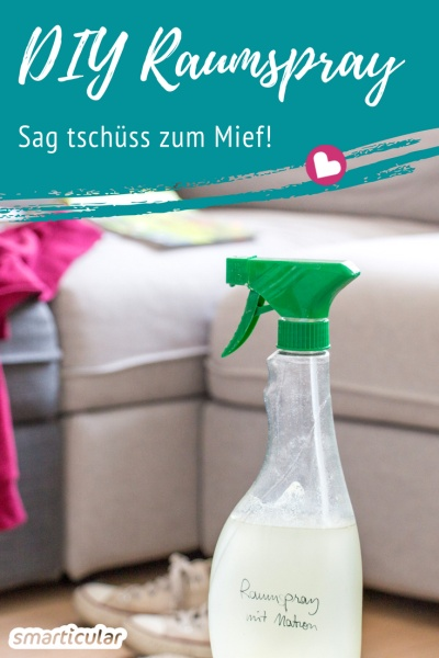 Raumspray Selber Machen rezept für diy-raumspray mit natron, gegen schlechte gerüche