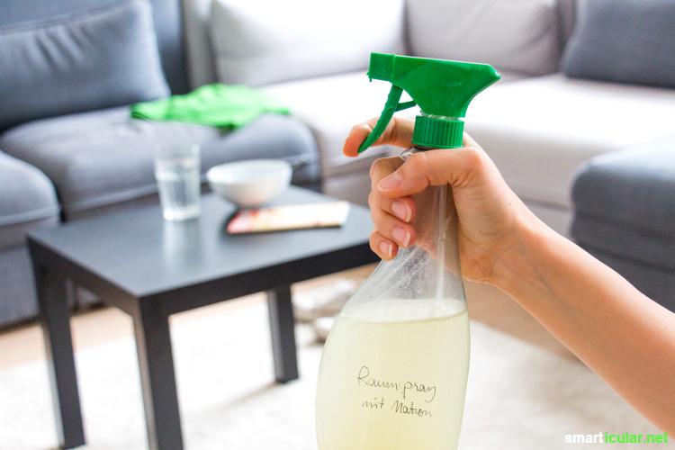 rezept f r diy raumspray mit natron gegen schlechte ger che. Black Bedroom Furniture Sets. Home Design Ideas