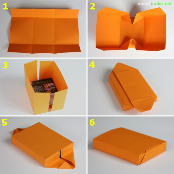 Um Geschenke schön zu verpacken, musst du kein Künstler sein, teures Papier oder endlos Klebeband verwenden. Hier sind 6 einfache und schöne Alternativen