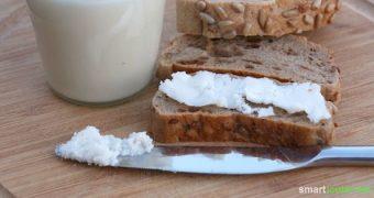 Leckere Brotaufstriche sind oft teuer oder voll unerwünschter Zutaten. Dabei sind Kokosmus und Mandelmus so leicht selbst gemacht. Das musst du probieren!