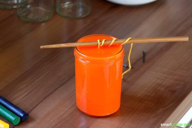 Tassen Kerzen Selber Machen : Kerzen preiswert selber machen aus pflanzen?l