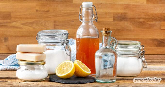 Einfache Hausmittel können dir ein Vermögen sparen und nebenbei auch die Umwelt schonen. Diese fünf Hausmittel ersetzen fast eine Drogerie!
