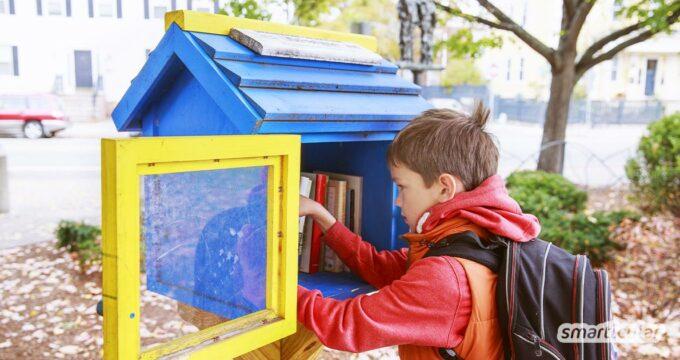 Kaufen ist out und tauschen ist in. Konzepte der Sharing Economy begegnen uns immer häufiger. Kaum eins ist schöner als die Bücherbox. Gibt es sie schon in deiner Nähe?