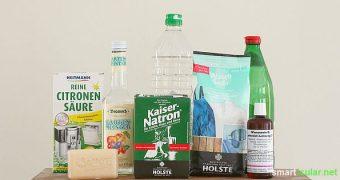 Einfache Hausmittel können dir ein Vermögen sparen und fast nebenbei auch die Umwelt schonen. Diese 7 Helfer sollten in keinem Haushalt fehlen!