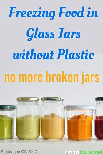 Freezing food and liquids in glass containers is absolutely possible and can help you avoid plastic and trash. Find out how it's done safely!