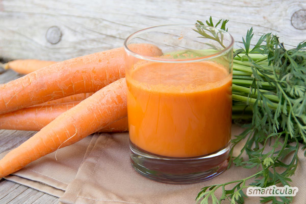 Carrots are healthy for the eyes, heart, intestines and skin. Here you will find extraordinary recipes for internal and external use!