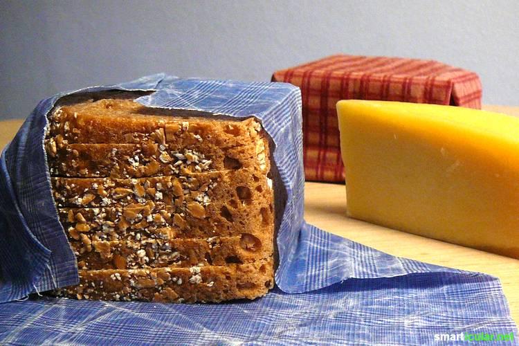 Zum Einfrieren von Lebensmitteln bedarf es keiner Blastikbehälter und Gefrierbeutel. Mit diesen Mittel frierst du dein Essen gesund und plastikfrei ein.