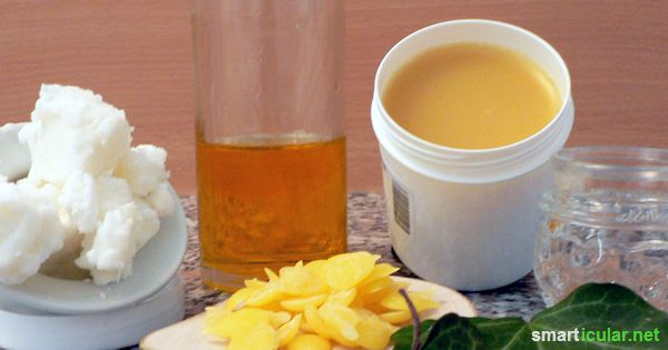 Das Rühren von Cremes ist einfacher als du vielleicht denkst und du hast freie Hand was die Zutaten angeht. Warum nicht einmal eine Efeu-Creme probieren?