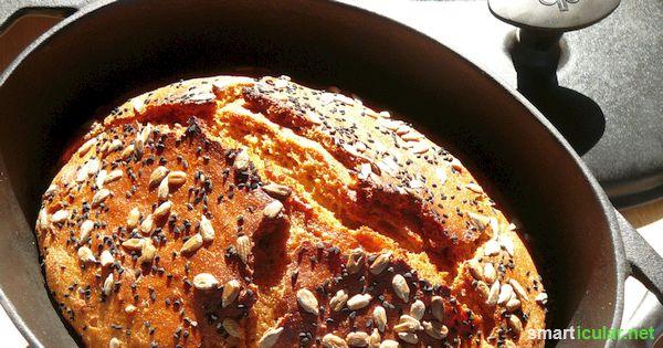 Genial Einfach Brot Im Topf Backen Locker Und Lecker