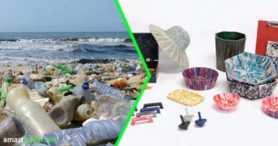 Eine Erfindung, mit der jeder Plastik selbst recyceln kann