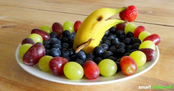 Gesunde Snacks Nicht Nur Fur Den Kindergeburtstag