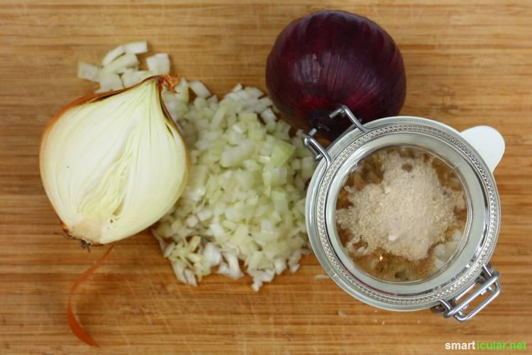 zwiebelsaft gegen husten einfaches rezept zum selbermachen