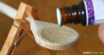 Für die Verwendung von ätherische Ölen bedarf es keiner ausgeklügelten Zerstäuber. Nutze einfach eine Wäscheklammer!