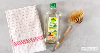 Essig-Essenz - preiswertes und umweltfreundliches Allzweckmittel im Haushalt. Nutze sie beim Putzen, Entkalken, als Weichpülerersatz und vieles mehr!