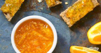 Marmelade selbst herstellen mit oder ohne kochen, ganz ohne Gelierzucker, Konservierungsstoffe, Säureregulatoren oder Palmöl.