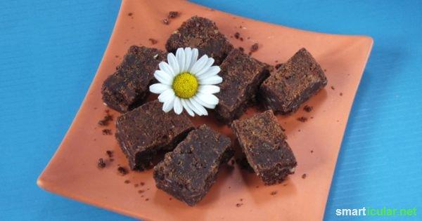 Die wenigsten Menschen können dauerhaft der Schokoladen-Versuchung widerstehen. Dieses hausgemachte Konfekt ist eine leckere und gesündere Alternative.