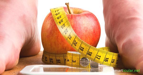 Wie man in 1 Tag ohne Diät Gewicht verliert
