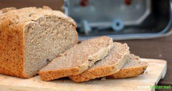 100 Prozent frei von Zusatzstoffen und wahnsinnig lecker: Fünf gesunde Brotrezepte für den Backautomaten mit Gelinggarantie!
