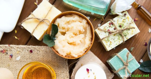 Naturkosmetik selbermachen – Rezepte für Cremes, Salben, Seifen und mehr