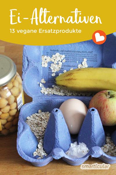 Kochen und Backen ohne Ei? Geht ganz einfach und funktioniert auch mit fast allen herkömmlichen Rezepten! Die besten Ei-Alternativen in der Küche!