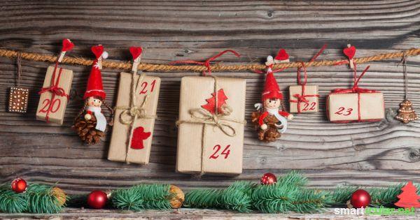 Weihnachtskalender Für Kinder Basteln.43 Ungewöhnliche Ideen Zum Befüllen Des Adventskalenders Für Kinder