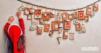 Über 50 Ideen: Mit diesen DIY-Alternativen, kleinen Geschenken und Gutscheine füllst du den Weihnachtskalender deiner Kinder originell und nachhaltig!