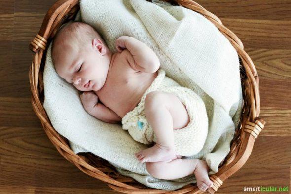 Herkömmliche Windeln sind wenig nachhaltig und enthalten viele fragwürdige Inhaltsstoffe! Diese Alternativen sind gut für dein Baby und für die Umwelt.