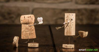 Kaum ein Werkstoff ist so vielseitig nutzbar wie Kork. Deshalb: wirf Wein- und Sektkorken nicht weg und lass dich von diesen genialen Ideen inspirieren!