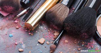 Je natürlicher, umso besser. Manchmal bedarf es aber doch etwas Make-Up. So stellst du dein Puder, Rouge und Lippenstift selbst her!