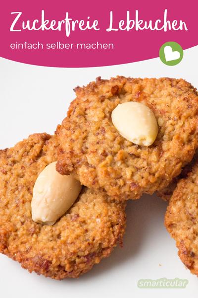 Diese zuckerfreien Weihnachtsplätzchen schmecken köstlich und eignen sich zum gesunden Naschen sogar für Kleinkinder.