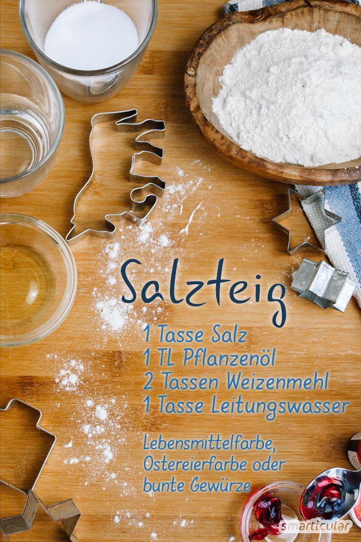 Turbo Salzteig einfach selber machen: Rezept und Anleitung DH68
