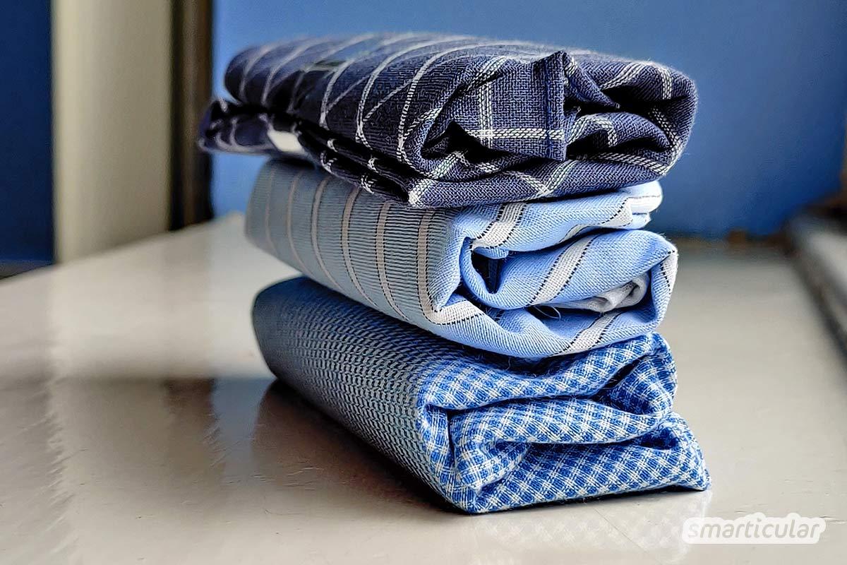 T-Shirt-Upcycling statt Altkleidertonne: mit diesen Ideen verwandelst du alte Shirts in schöne, nützliche Accessoires. Das schont Umwelt und Geldbeutel.