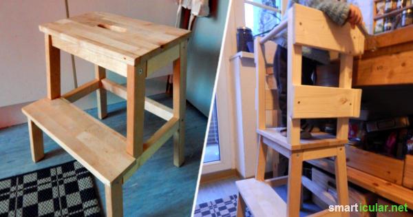 lernturm f r kleinkinder selber bauen statt kaufen. Black Bedroom Furniture Sets. Home Design Ideas
