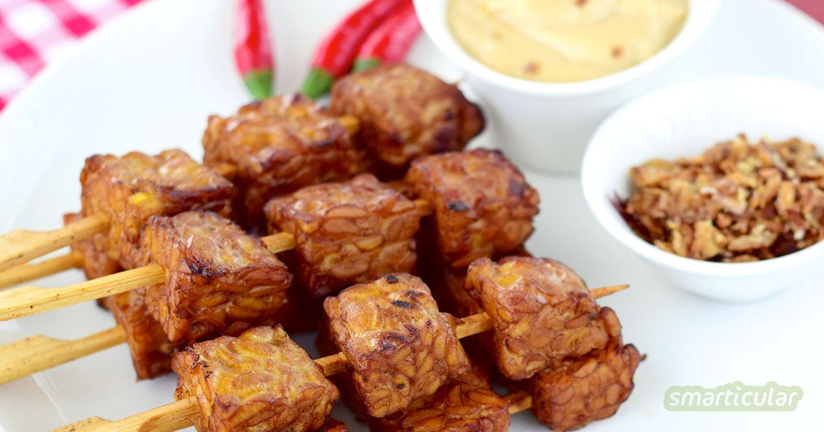 Diese sieben Fleisch-Alternativen schmecken nicht nur Vegetariern. Auch Fleischesser werden von Seitan-Gulasch und Tempeh begeistert sein.
