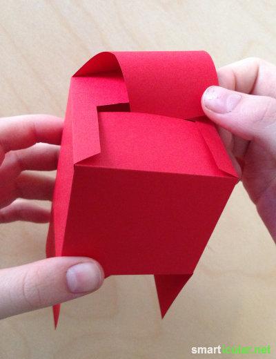 Geschenkbox basteln papier