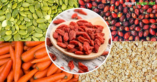 Goji-Beeren sind zwar reich an Vitalstoffen, doch diese regionalen Lebensmittel sind genauso gut und kosten nur einen Bruchteil.