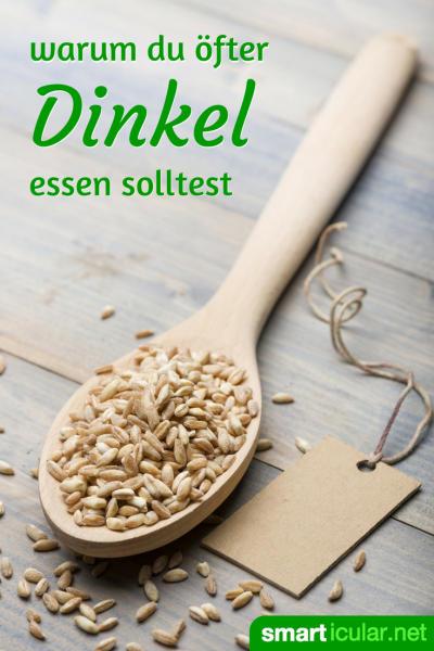 Vergiss Weizen und entdecke, welches gesundheitliche Potenzial in Dinkel steckt und auf welch vielfältige Weise du die Körner in der Küche nutzen kannst.