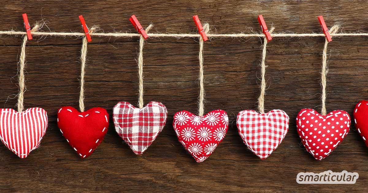 Zum Valentinstag Freude schenken ganz ohne Müllberge und schlechtes Umwelt-Gewissen? Wir haben alternative Geschenk-Ideen, über die sich jeder freut.