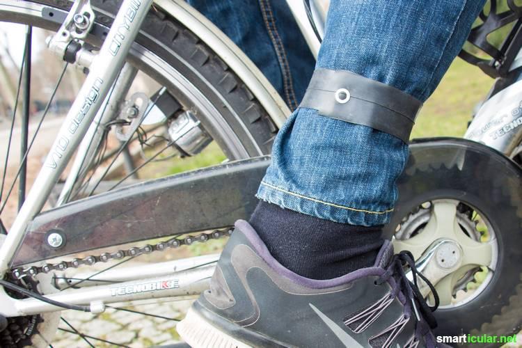 Wirf kaputte Fahrradschläuche nicht weg! Aus dem strapazierfähigen Rohstoff kannst du noch Menge praktische Dinge herstellen.