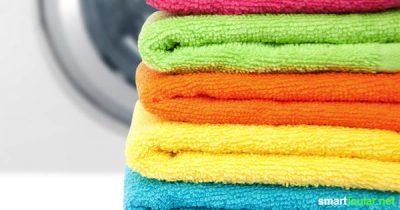 Alte Handtücher sind viel zu schade für den Müll. So vielseitig kannst du sie für neue Aufgaben weiterverwenden!